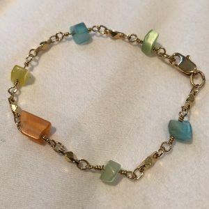 Jewelry - Stone Gold Bracelet